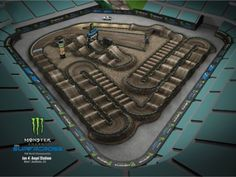The first and the last track of 2020 season supercross 💥💥💥💥💥💥💥 Repost SupercrossLIVE sx mx motocross braap MXBARS 🤙🏻 Motocross Tracks, Rc Track, Monster Energy Supercross, Angel Stadium, Create Animation, Fj Cruiser, Travel Info, Car Rental, Bandanas