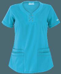Delantales médicos en colores sólidos, uniformes médicos y de enfermería en Uniform Advantage Greys Anatomy, Scrubs, V Neck, Peplum, Caregiver, Women, Style, Fashion, Nursing
