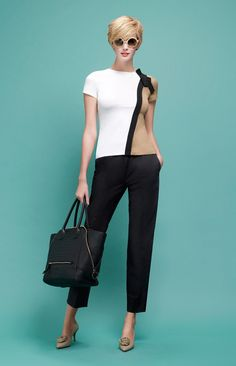 Extraordinary Spring / Summer 2014 Collection by Paule Ka - love the simplicity of this top