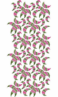 African Clothing Allover Embroidery Design
