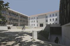 Colegio  Técnico  Las Nieves / WRL Arquitectos