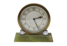 #Clock w/ Marble Stand http://www.charlieford.com/store/public/product/619-clock-w-marble-stand
