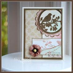 Just Because Silhouette by thestampinbean - Cards and Paper Crafts at Splitcoaststampers