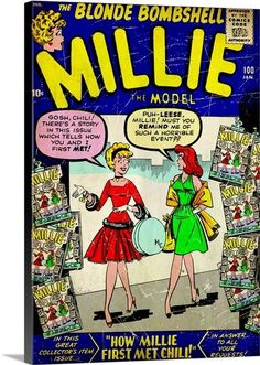 The Blonde Bombshell, Millie The Model (How Millie Met Chili!)