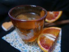 Tisana alla curcuma, cannella e arancia