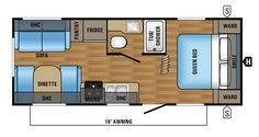 Learn more about the Jayco Jay Flight Slx for sale at Camping World—the nation's largest RV & camper dealer. Camping World Stock# 1429961 Jayco Travel Trailers, Cargo Trailer Camper, Travel Trailer Floor Plans, Rv Floor Plans, Used Rvs For Sale, Rv For Sale, Travel Trailer Accessories, Jayco Rv, Camper Flooring