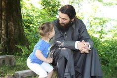 I love photos with children with priests, monks or nuns!!!