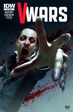 Digital painting ,cover for idw (v-wars) digital painting by ryan brown #jonathanmaberry #ryanbrown #vwars