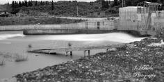 Φράγμα Αλφειού / Alfios Dam 1 Black White Photos, Black And White, White Photography, Black N White, Black White