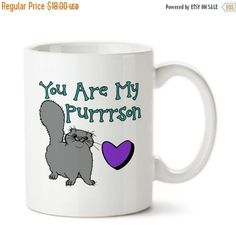 You Are My Purrrson, Valentine's Day, I Love You, Valentine Gift, Together Forever, Be Mine, Anniversary, Coffee Mug,