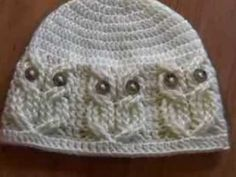 Crochet Owl Cable Stitches - YouTube
