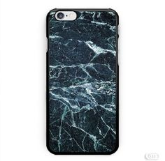 Marble Texture Coral Black iPhone Cases Case