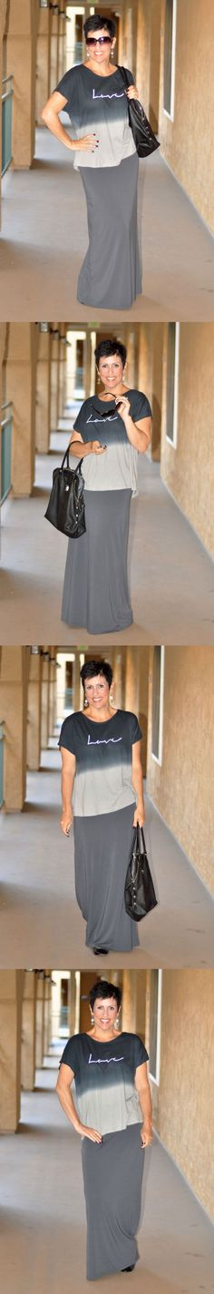 Dress With Purpose :: Be Inspired :: Making It Work :: Stripes :: Choose everyday to Dress With Purpose! www.dresswithpurpose.com #style #dresswithpurpose #purpose #maxi #love #comfy