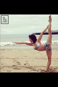 Yoga Inspiration ~ Beautiful Posture.  LIKE www.Facebook.com/NamaStacyYoga