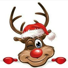 Rudolf the red nose.......