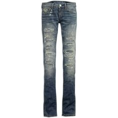 AE Women's Skinny Jeans (6 Reg) ($50) ❤ liked on Polyvore