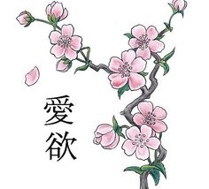 Most Common Chinese Patterns | Japanese_cherry blossom_tattoo-design
