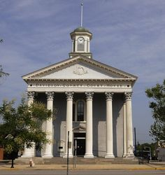 Historic Davidson County Courthouse in Lexington, NC.
