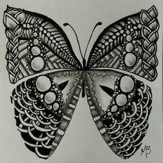 The MoniTangle Technique: My Tangles by Monica B