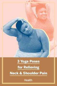 After a long day at work and sitting for eight or more hours a day, it's common to have shoulder and neck pain. Try these yoga moves from a yoga expert and body positivity role model to stretch out your neck and shoulders. #yoga #stretching #painrelief