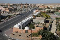 View of Laayoune city in the Western Sahara Territory (Sahara Occidental) south the Kingdom of Morocco