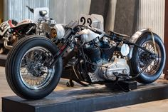 Iron Panther by @frankiebowmanmotorcycles via The Handbuilt Motorcycle Show