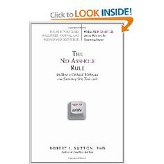 In The No Asshole Rule: Building a Civilized Workplace and Surviving One That Isn't, Stanford Professor Robert I. Sutton makes the case for keeping assholes out of your business. A hostile workplace has far-reaching consequences and the advantages of reducing that hostility are many. A fun and useful guide for organizations of all sizes that are committed to getting their culture right.