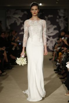 Carolina Herrera Bridal Spring 2015 - Slideshow - Runway, Fashion Week, Fashion Shows, Reviews and Fashion Images - WWD.com