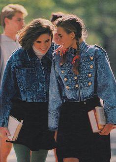 Decades of Fashion, Peggy Sirota for Seventeen magazine, August 1987 1987 Fashion, 1980s Fashion Trends, 80s Trends, 80s And 90s Fashion, Retro Fashion, Vintage Fashion, Style Fashion, Lauren Hutton, Bts Mode