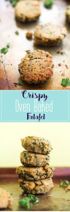 These crispy, oven baked falafels are the perfect addition to a dish. They're full of plant based protein, healthy fats, and are vegan + gluten free! Serve them with some hummus and chips for a delicious appetizer, or serve in a bowl for a meal.