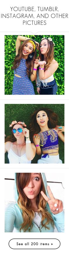 """""""YOUTUBE, TUMBLR, INSTAGRAM, AND OTHER PICTURES"""" by vivblue360 ❤ liked on Polyvore featuring pictures, eva gutowski, icon pictures, icons, icon pics, pics, square pictures, accessories, photos and all pictures"""