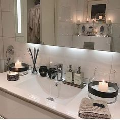 Bathroom Essentials chic pink and white bathroom essentials | bathrooms | pinterest
