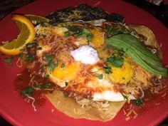 Blackbird Cafe:Long Beach,CA Huevos Rancheros