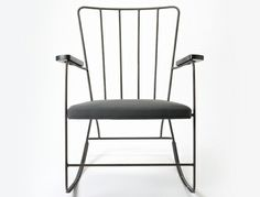 Rocker is a legendary design chair by Ernest Race, re-released by BuzziSpace in 2014 as part of the BuzziSpace Legends collection Mcm Furniture, Furniture Design, Classic Furniture, Single Chair, Metal Chairs, Wood Chairs, Industrial Chic, Furniture Inspiration, Modern Classic