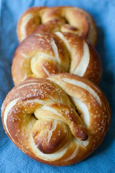 Soft Pretzels - I need to learn how to make these!