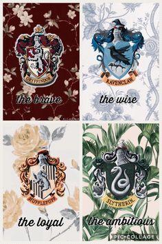 Hogwarts houses – Harry Potter - Water Hogwarts Häuser - Harry Potter -You can find Hogwarts and more on our website. Estilo Harry Potter, Arte Do Harry Potter, Cute Harry Potter, Harry Potter Magic, Harry Potter Artwork, Harry Potter Spells, Theme Harry Potter, Harry Potter Drawings, Harry Potter Tumblr