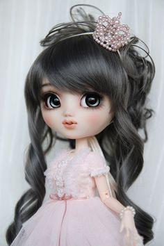 """https://flic.kr/p/ek31EK   """"Princess Pink""""   OOAK Pullip Custom Doll - Princess Pink - by Happydolly"""