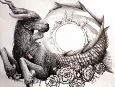 Capricorn by RiverSpirit456.deviantart.com on @DeviantArt