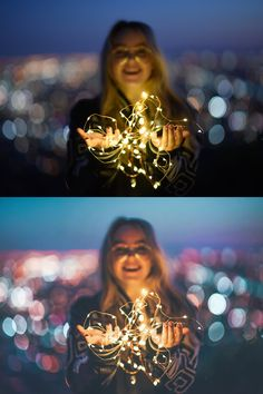 a photo shot/edited by my favorite photographer Brandon Woelfel! I… a photo shot/edited by my favorite photographer Brandon Woelfel! I am absolutely in love with his style when it comes to photography! Fairy Light Photography, Tumblr Photography, Girl Photography Poses, Creative Photography, Night Portrait, Photo Portrait, Brandon Woelfel, Aesthetic Photo, Photo Instagram