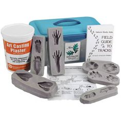 Nasco Life/form® Animal Tracks Mold/Model Unit ~ Animal Tracks ~ Life Science