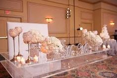 77 best Head Table Decor images on Pinterest   Head table decor ...
