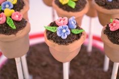 Spring Flower Cake Pops party-ideas