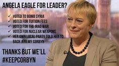 The 'Corbynista' Twitter meme which Angela Eagle attacked on live radio today