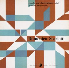 Heinz Waibl,  Domenico Scarlatti, Sonate per clavincenbolo - vol. 1, 1959   (via)