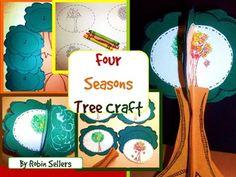 Four Seasons Craft: {Changing Seasons Tree Craftivity}