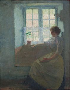 Alfred Aaron Wolmark - The Window Seat
