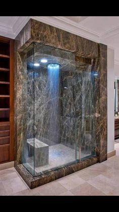 Baño trasparente