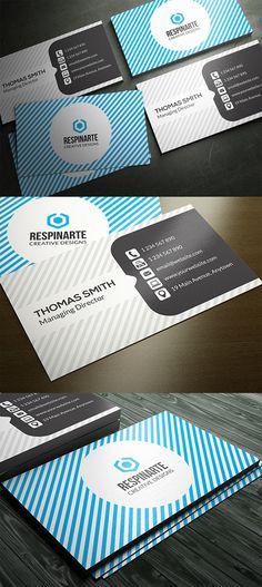 Corporate Business Card #businesscards #businesscarddesign #psdtemplates #corporatedesign