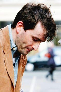 David Tennant's delightful dimple