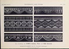 Teneriffe lace work